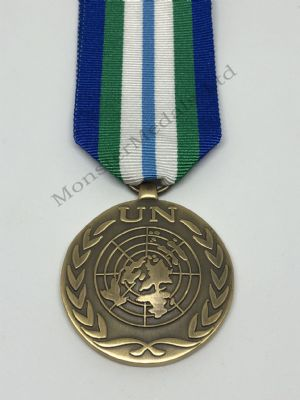 Full size United Nations UN Haiti Medal MINUSTAH